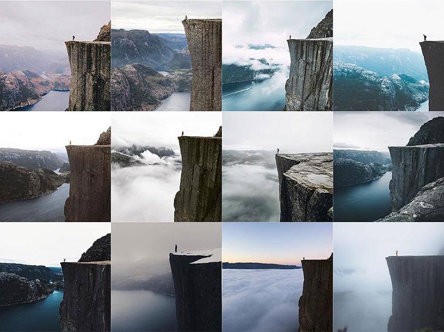 instagramové fotografie vypadají stejně
