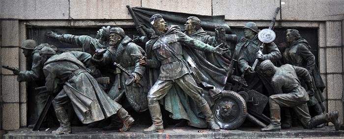 sovětský pomník