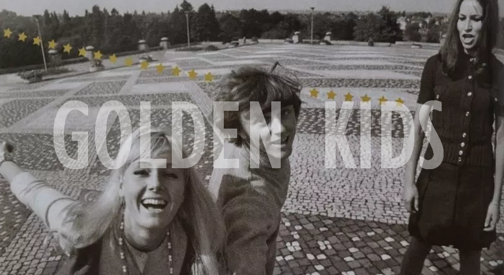Golden Kids fotografie, krádež hudby cover