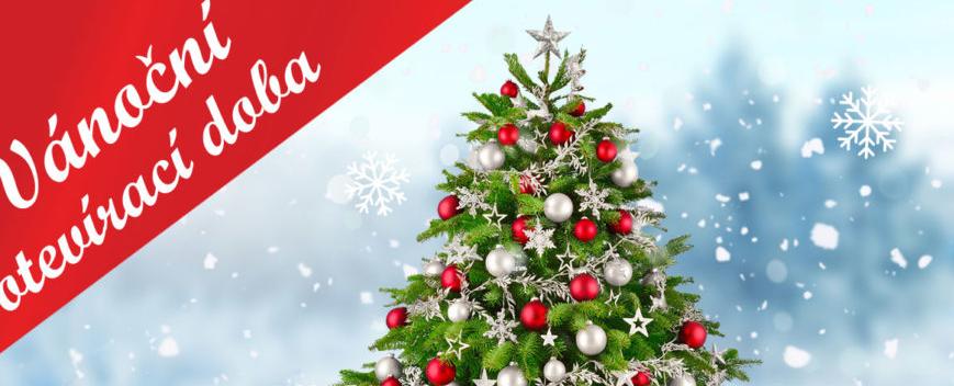 Otevírací doba na Vánoce 2019