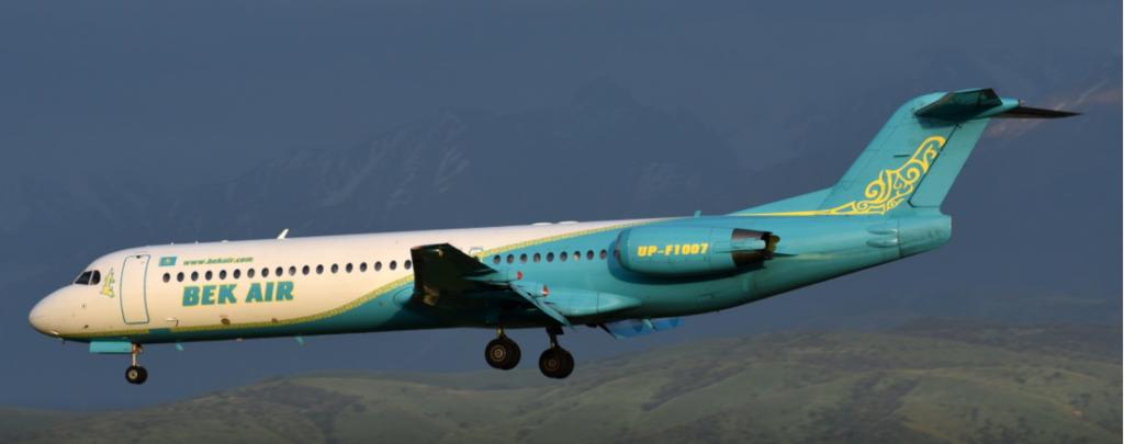 letecká katastrofa v kazachstánu