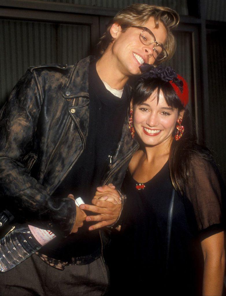 Brad Pitt a Jill Shoelen