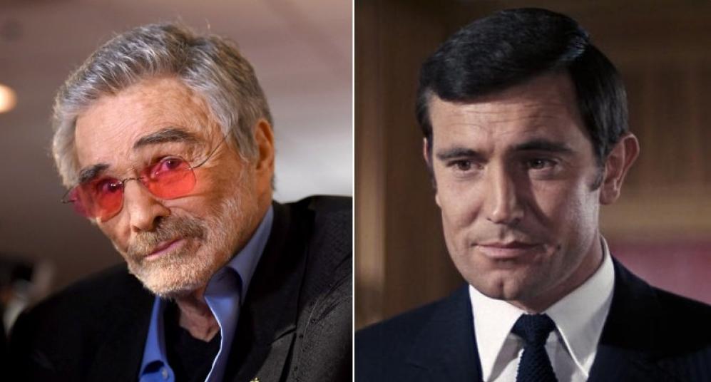 Filmové role, které slavní herci odmítli a litují. Burt Reynolds James Bond
